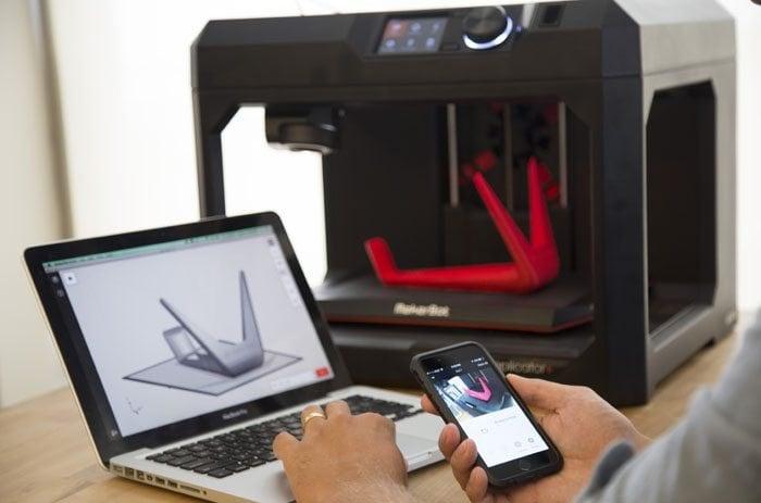 Makerbot mobile app