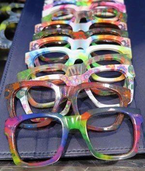 Safilo 3D printed eye glasses