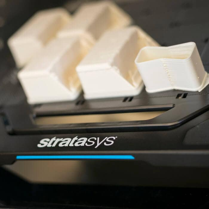3D print sample from Stratasys F123 series 3D printer