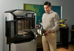 Stratasys F370 3D print sample