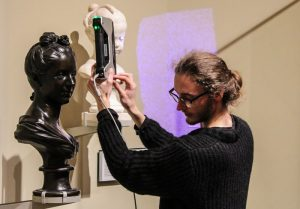 V&A digital classroom 3d scanning