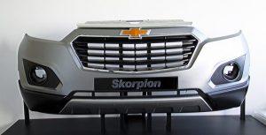 Skorpion car front