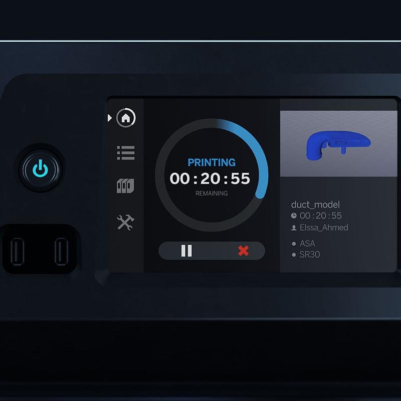 Stratasys F120 Touchscreen