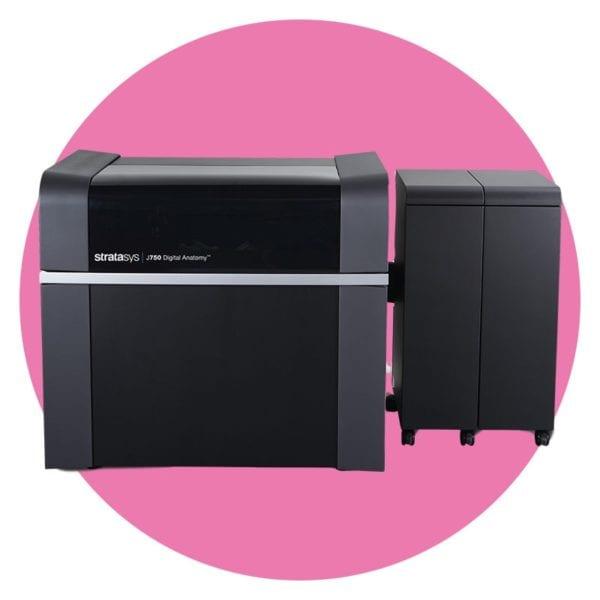 J750 Digital Anatomy Printer