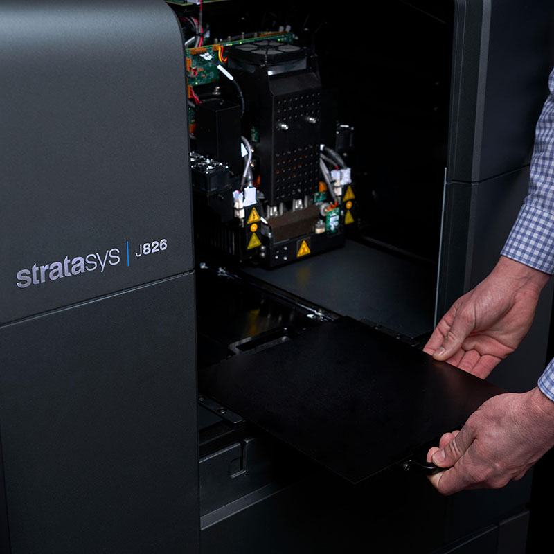 Stratasys J826 Inside