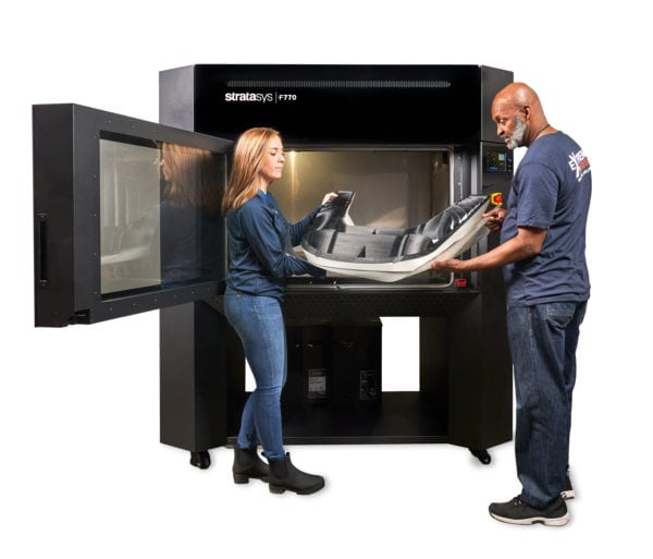 F770 Two People With Printed Part